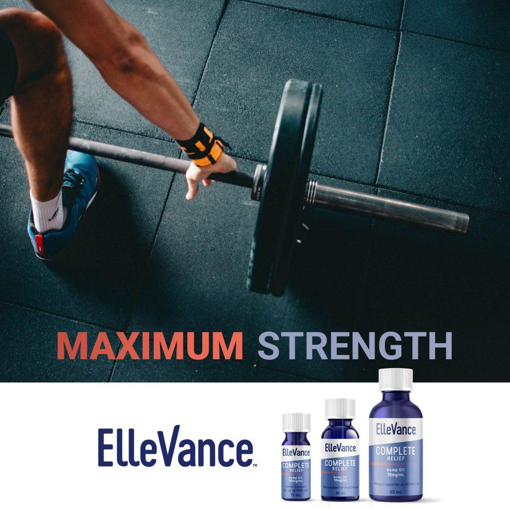 max strength cad hemp oils