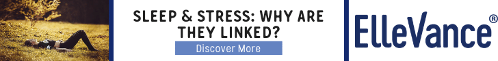 Sleep and stress why are they linked ElleVance blog banner